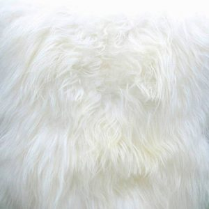 schapenvacht wit